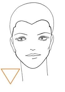 viso-triangolare